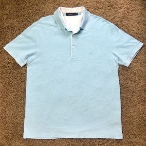 👕 Ermenegildo Zegna Sport Light Blue Polo Shirt